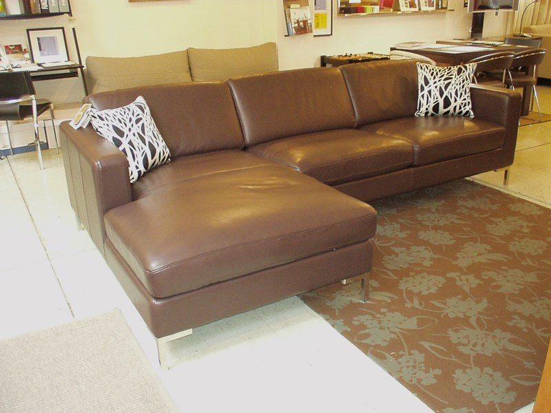 Moroni Leather Sectional #520 $3499