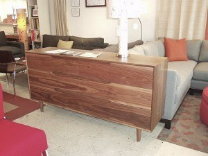 """Dasher is 70""""W x 18""""D x 34""""H with full extension soft close drawers.  $2400. Floor model $1800."""