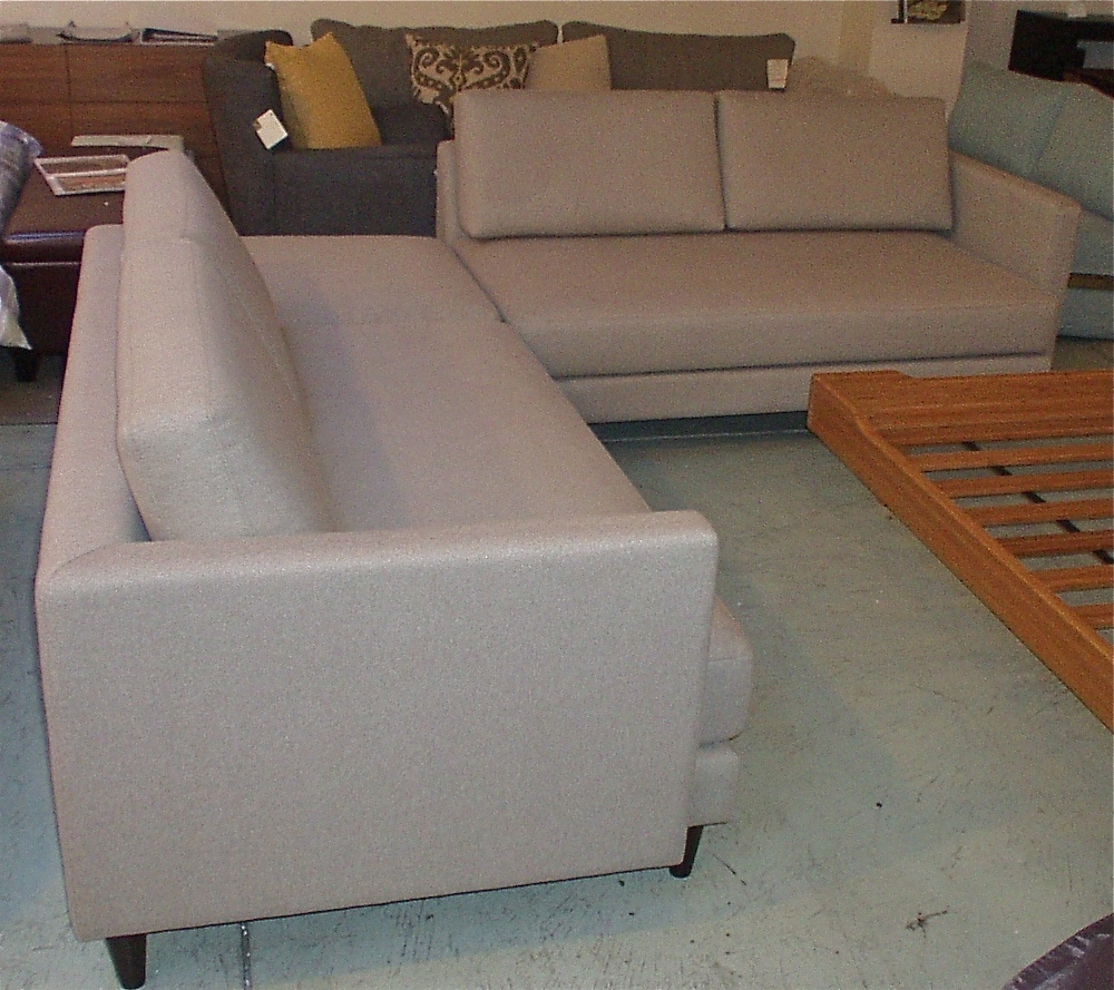 focus one home - focus one home love seats with corner ottoman in moore beach