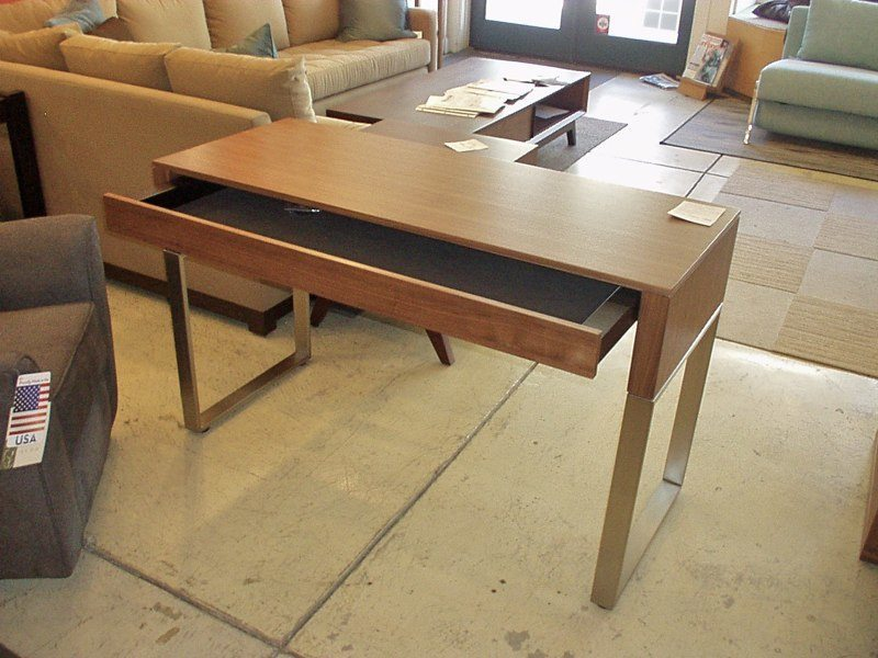 Attractive Cascadia Console/laptop Desk With Drawer In Walnut 29.25H X 47.75u201dW X  19.25u201dD $1245 Pictures Gallery
