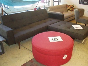 Splitback sofa/bed $1530 chaise/chair pictured at $670