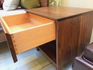 Silverton nightstands, dressers.  Solid walnut. All drawers are dove tailed and soft close.  All sizes available.