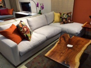 """Dublin all feather/down sectional $2495.  102""""W x 60"""""""